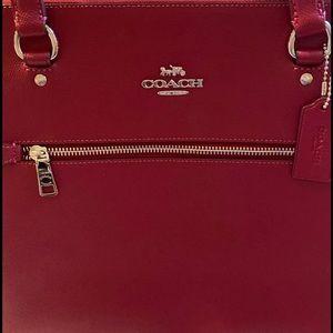 Coach Bags - Coach Zippered Shoulder Bag NWT